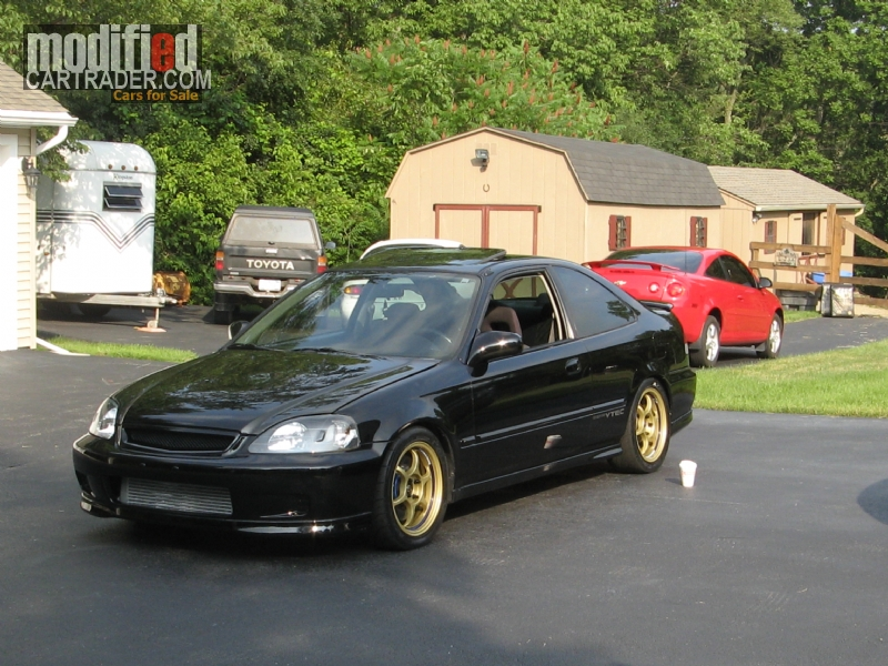 1999 honda civic si for sale middletown new york. Black Bedroom Furniture Sets. Home Design Ideas