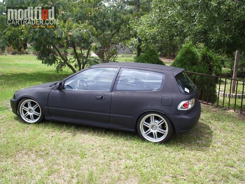 1992 Honda JDM Civic Hatchback VX For Sale