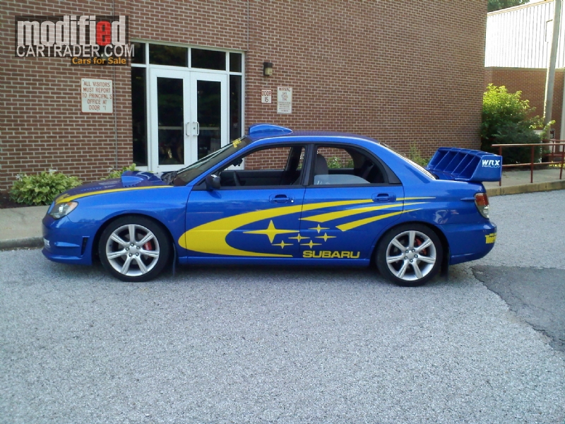 2006 Subaru WRX Rally WRC [Impreza WRX] For Sale | Anna Illinois