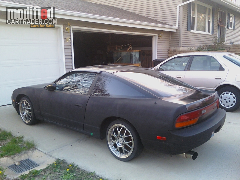 1992 nissan 240sx for sale bearsdale illinois. Black Bedroom Furniture Sets. Home Design Ideas