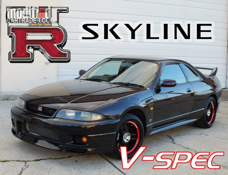 1995 Nissan Skyline Gtr R33 For Sale 1995 Nissan Skyline Gtr V-spec