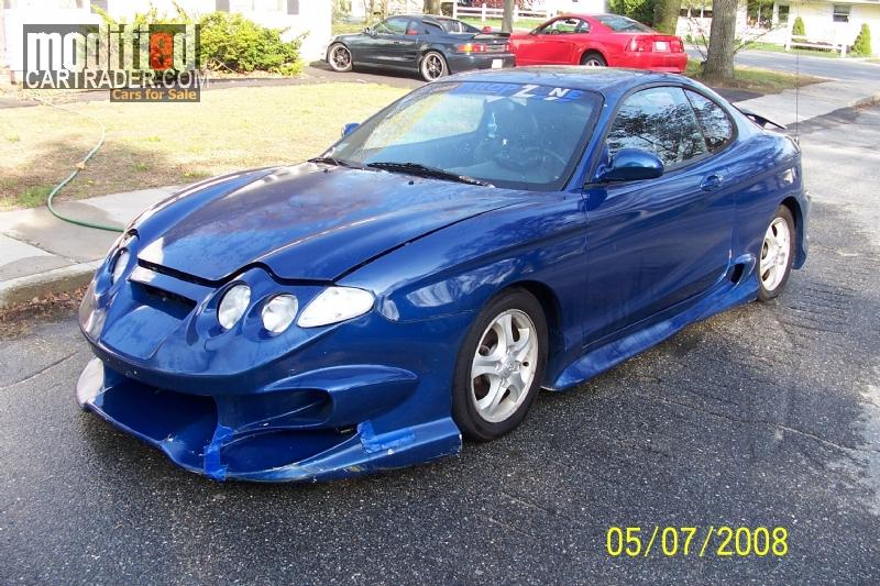 2001 Hyundai Tiburon For Sale Lawrence Massachusetts