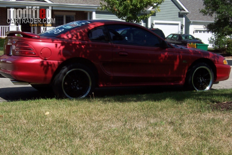1995 ford mustang gt for sale st charles illinois. Black Bedroom Furniture Sets. Home Design Ideas