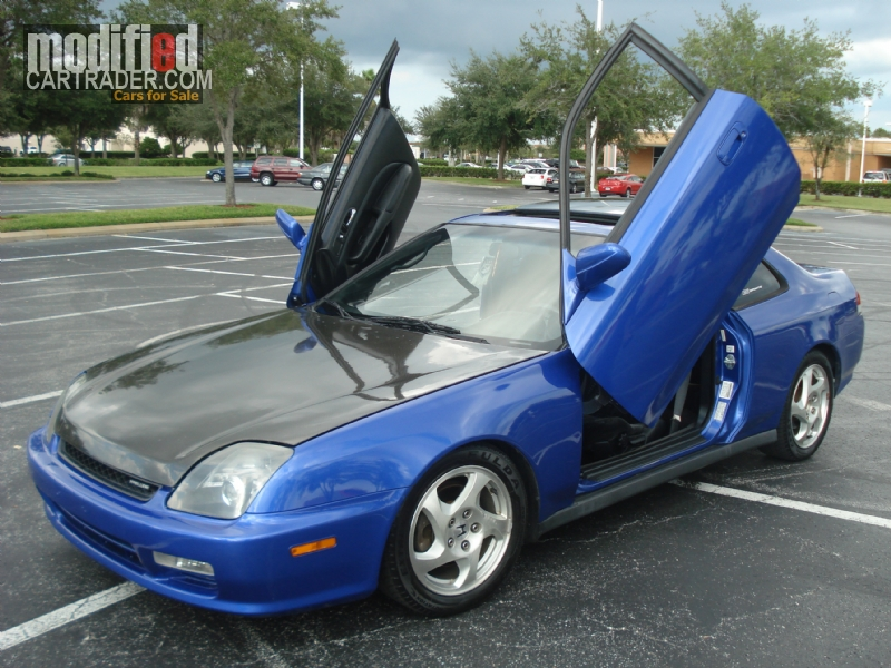 2001 Honda prelude h22 vtech lamborghini doors [Prelude] For Sale ...