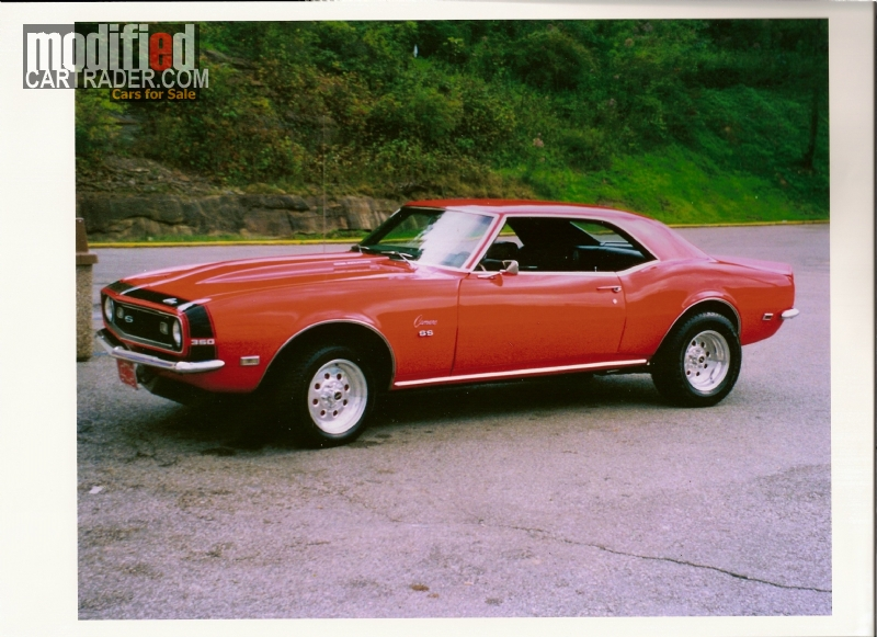 1968 Chevrolet Camaro For Sale Clear Fork West Virginia
