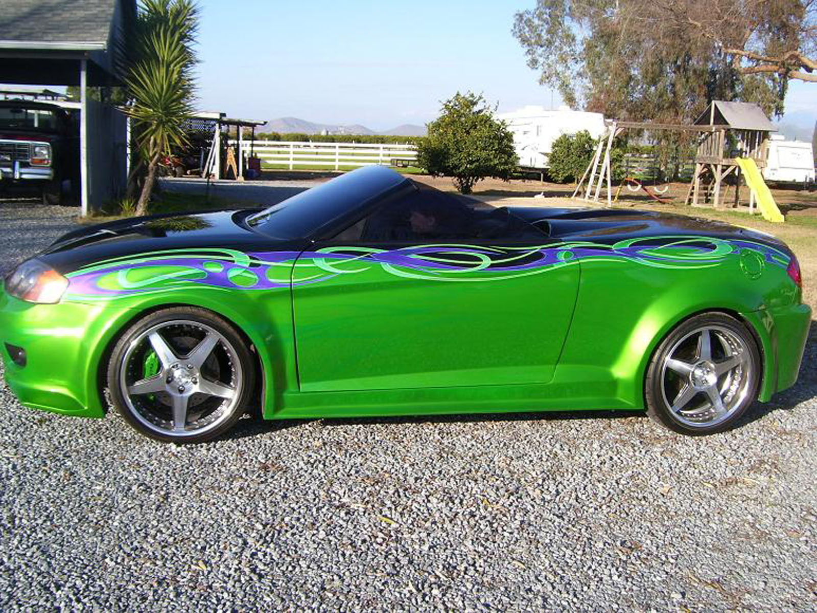 2004 Hyundai Tiburon Custom For Sale Porterville California