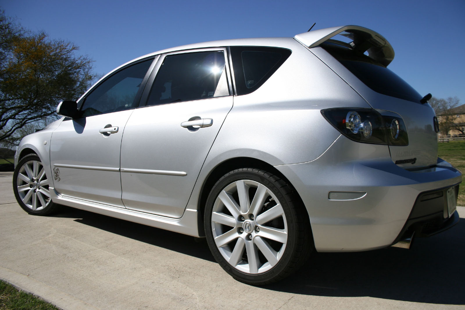 2007 mazda mazdaspeed3 gt for sale richmond texas. Black Bedroom Furniture Sets. Home Design Ideas