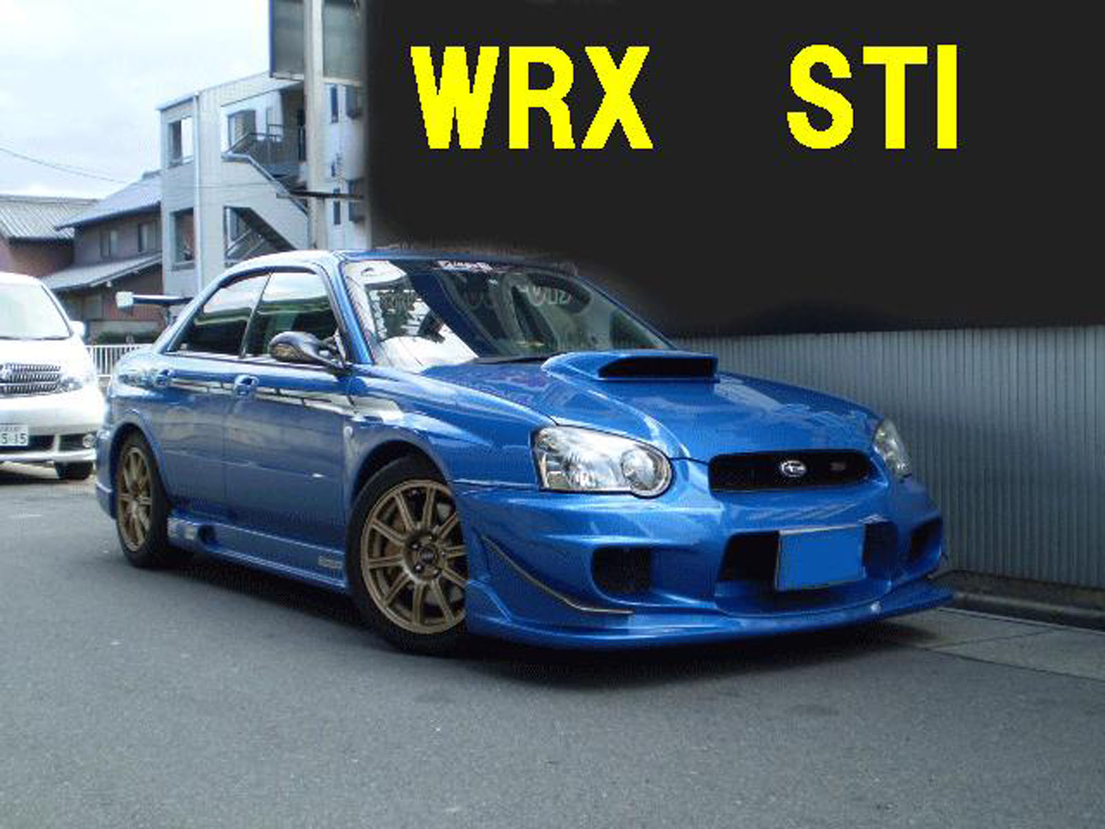2004 Subaru Impreza WRX Sti For Sale