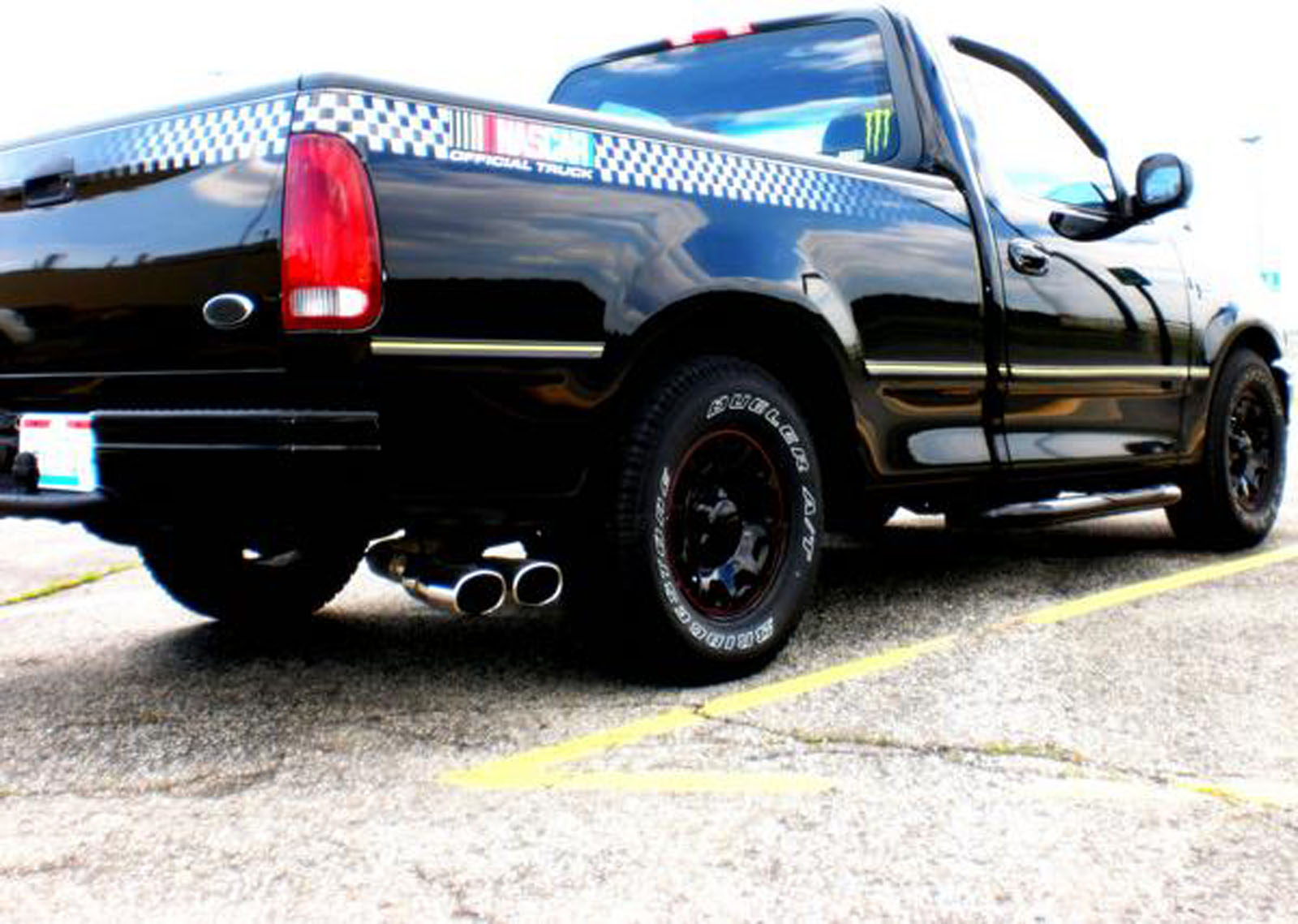 Ford f150 for sale 98 nascar edition f150 nice low home 98 f150 nascar