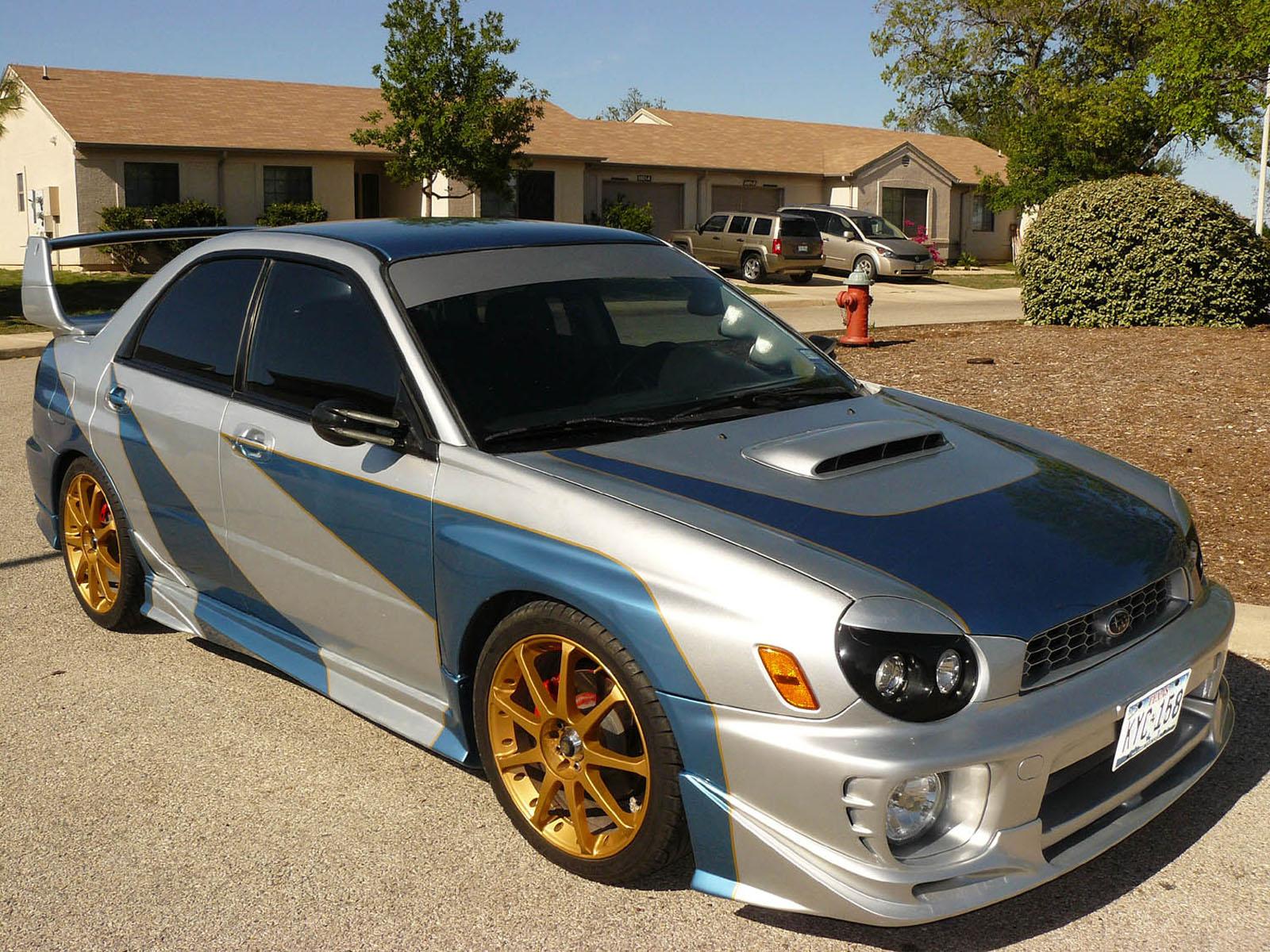 2002 Subaru Impreza Wrx For Sale San Antonio Texas