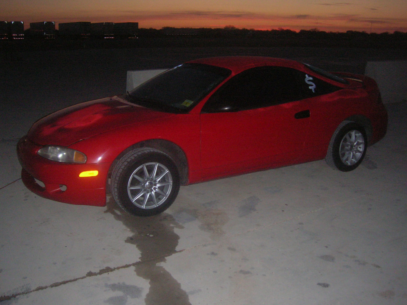 1995 mitsubishi eclipse rs for sale laredo texas. Black Bedroom Furniture Sets. Home Design Ideas