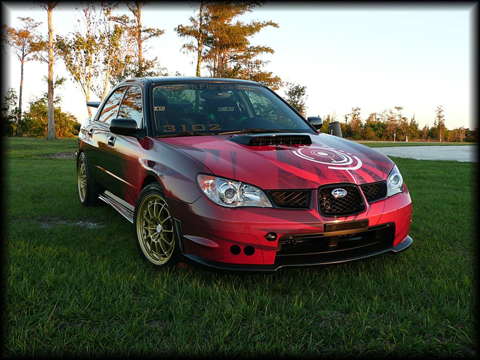 2006 subaru impreza wrx sti for sale delray beach florida. Black Bedroom Furniture Sets. Home Design Ideas