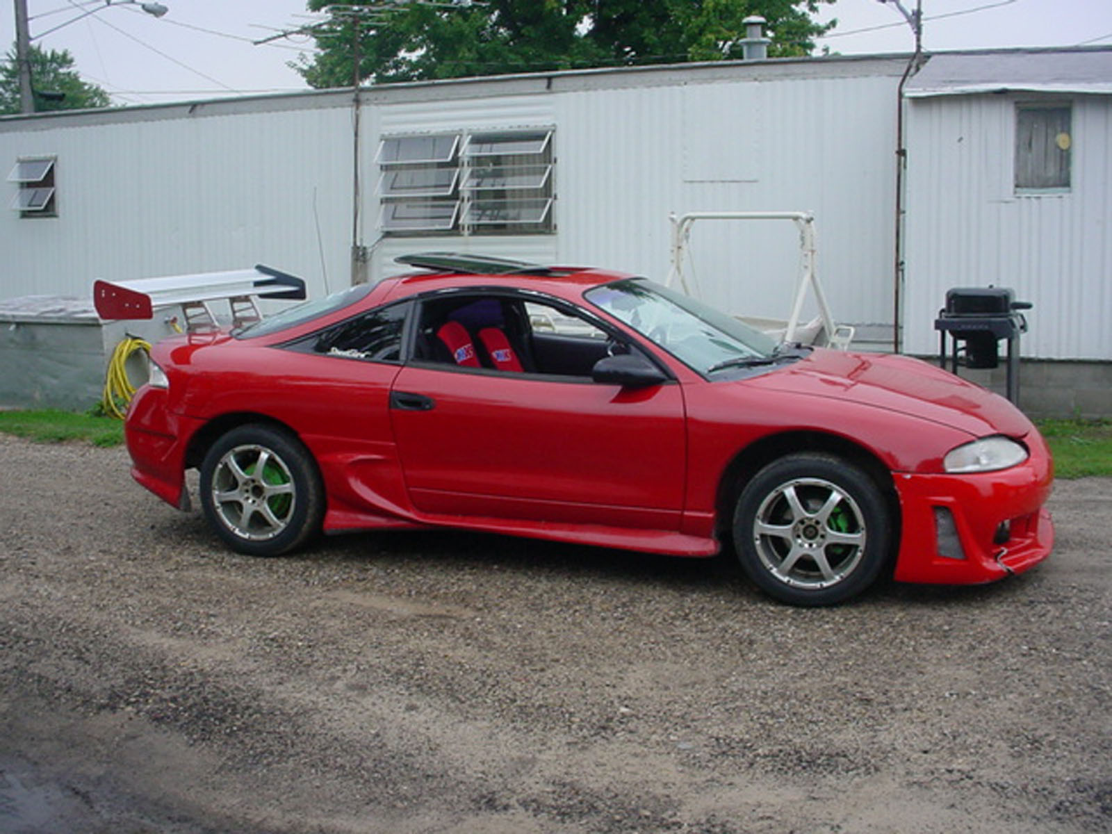 1995 mitsubishi eclipse rs for sale middleton michigan. Black Bedroom Furniture Sets. Home Design Ideas