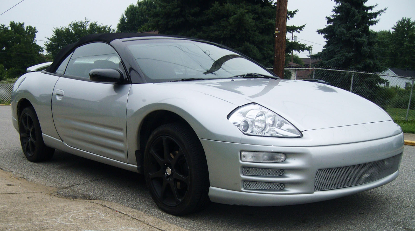 2001 mitsubishi eclipse spyder gs owners manual