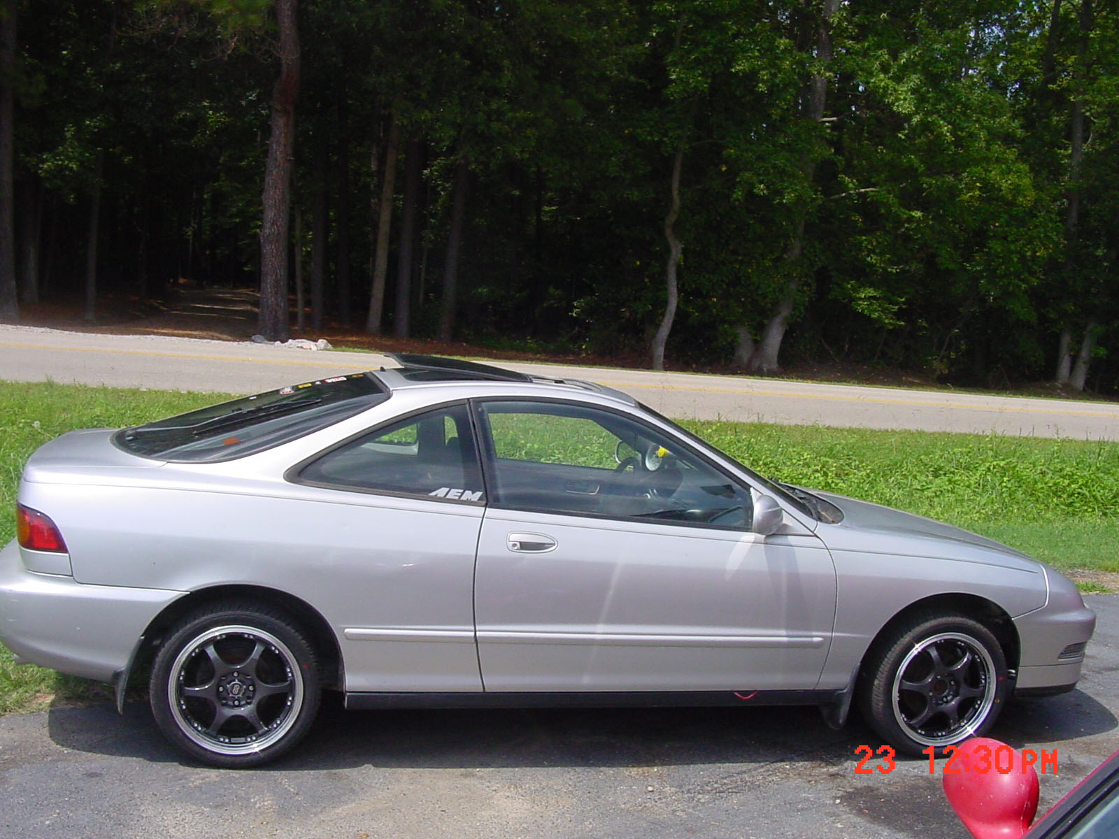 acura integra 4 door silver. 1996 acura racegas 110 octane integra special edition for sale disputanta virginia 4 door silver