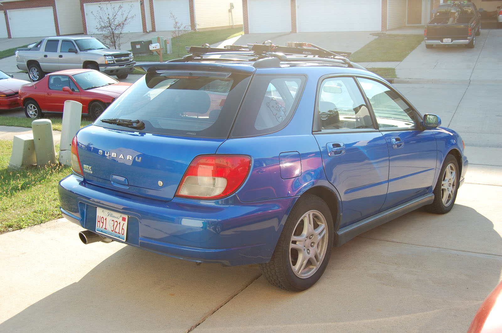 2002 subaru impreza wrx for sale naperville illinois. Black Bedroom Furniture Sets. Home Design Ideas
