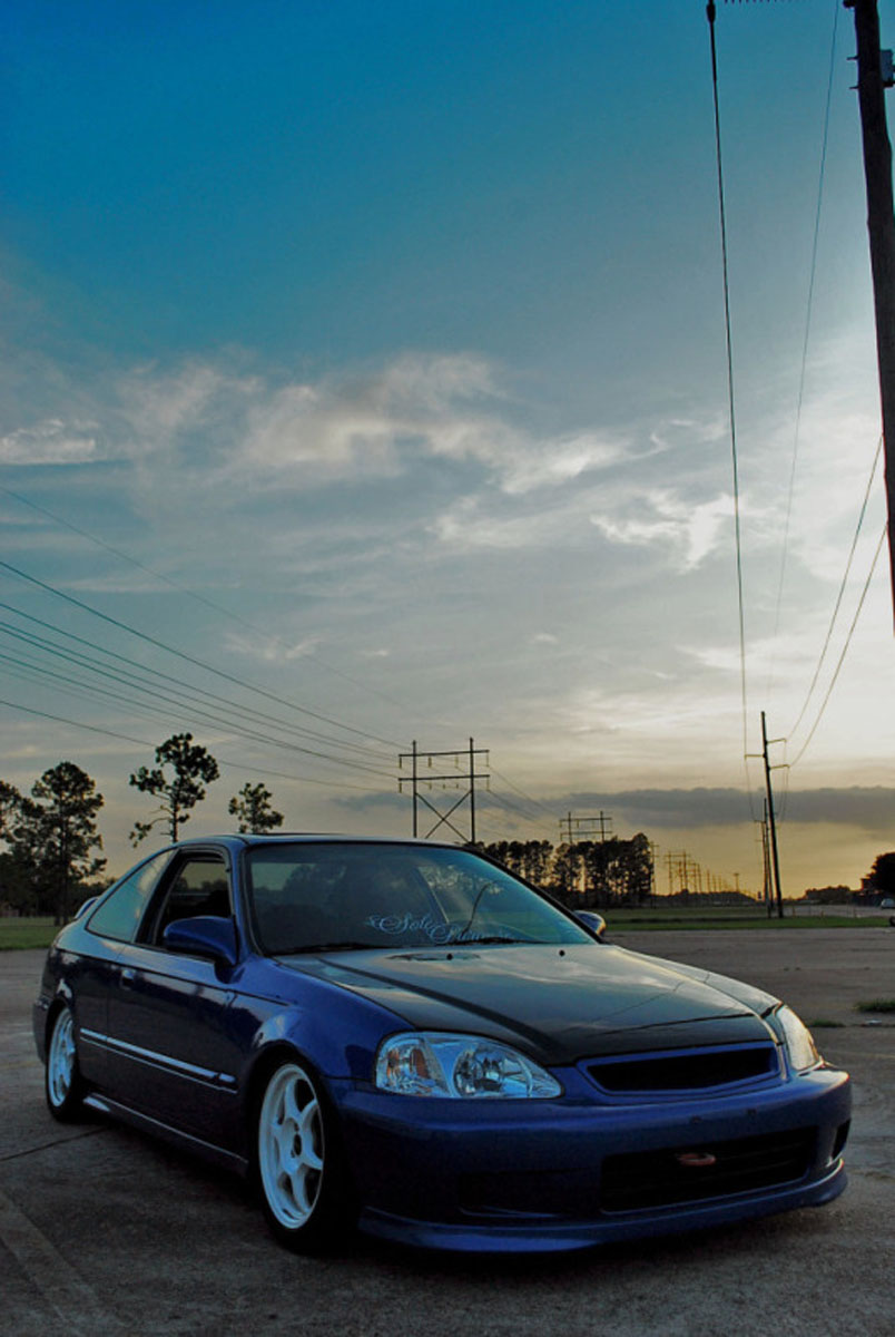 2000 honda civic si for sale beaumont texas. Black Bedroom Furniture Sets. Home Design Ideas