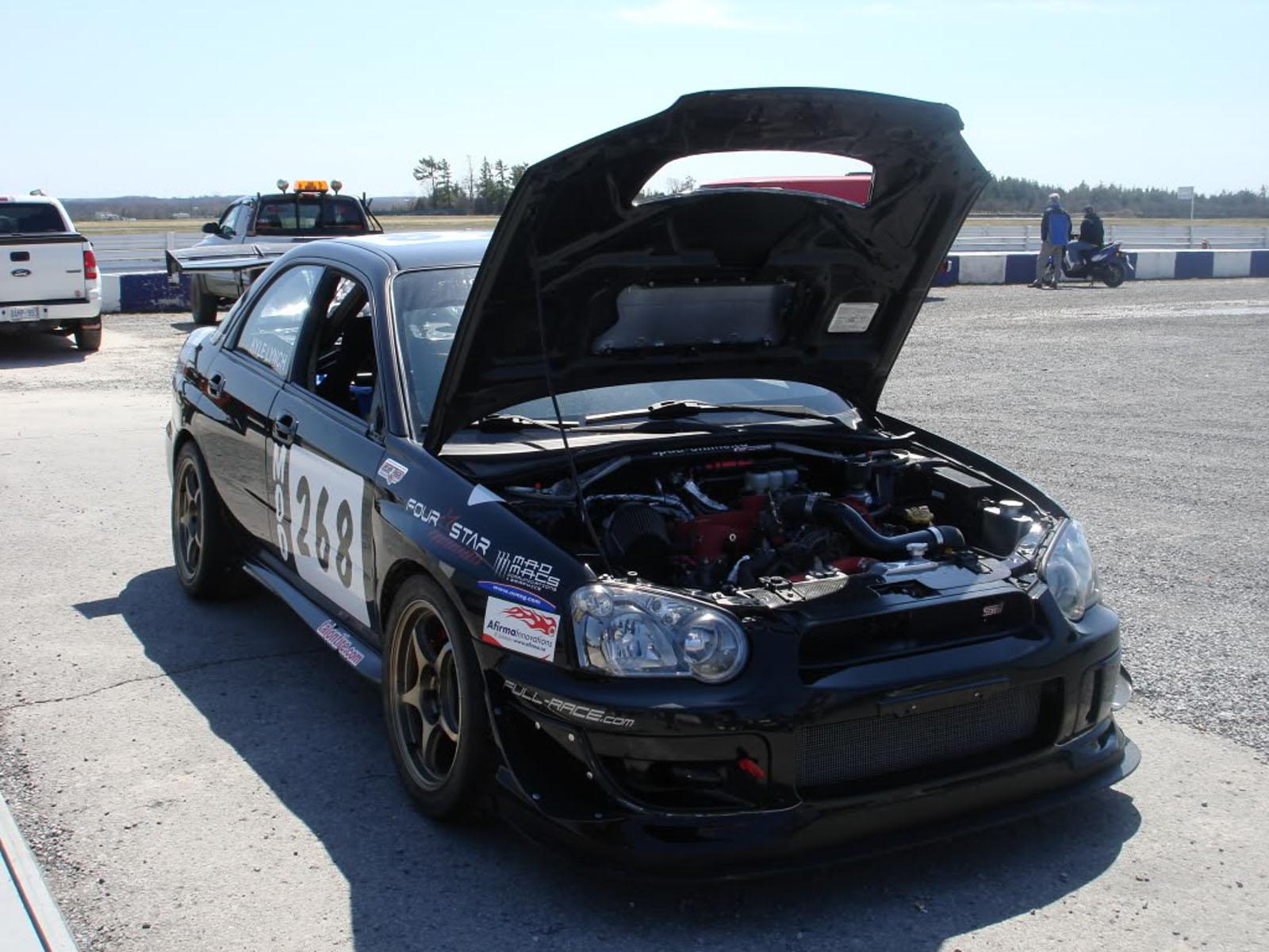 2004 Subaru 2004 Subaru STi Caged Race Car Impreza STi