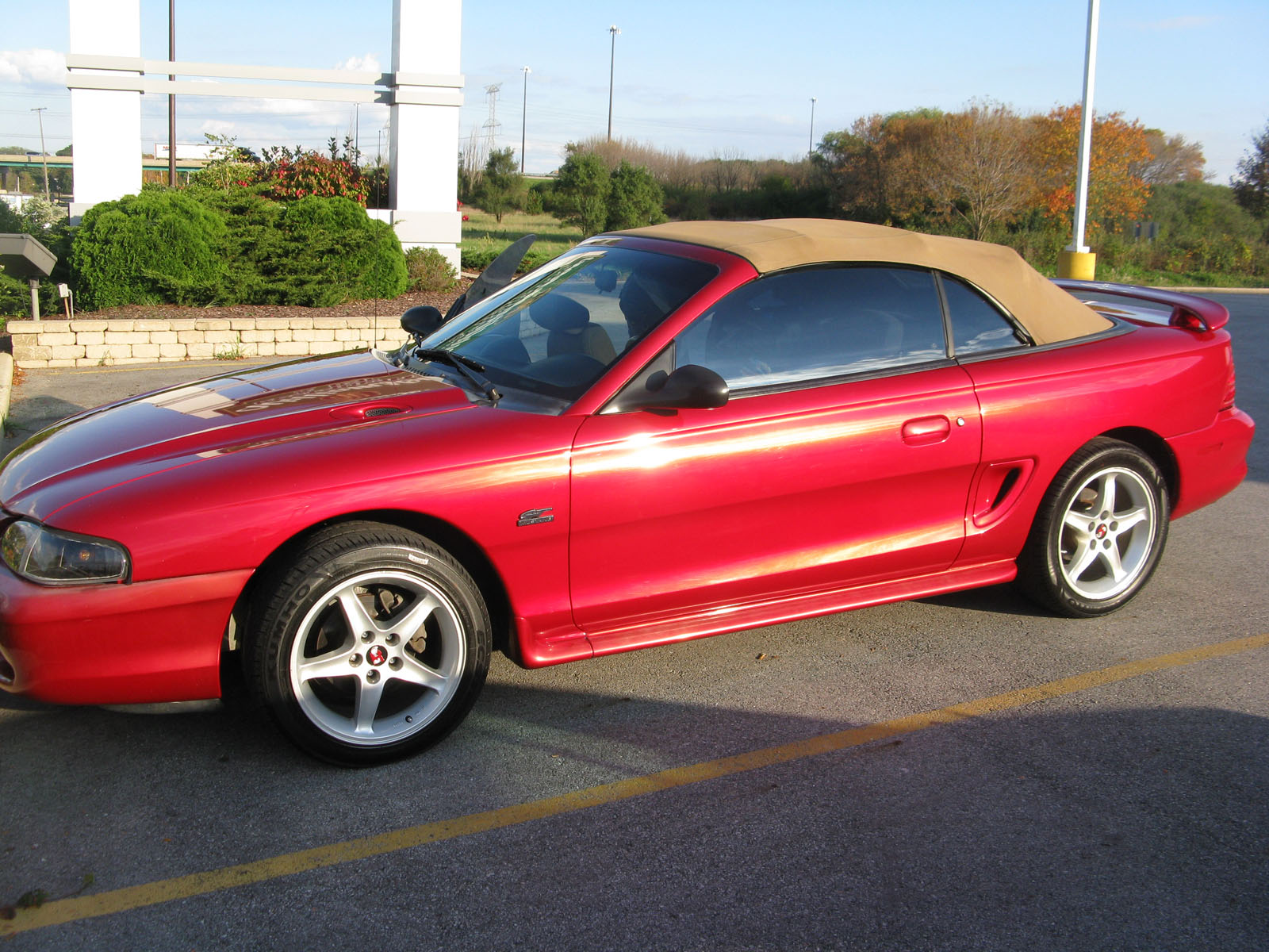 1995 ford mustang gt mustang gt for sale morris illinois. Black Bedroom Furniture Sets. Home Design Ideas