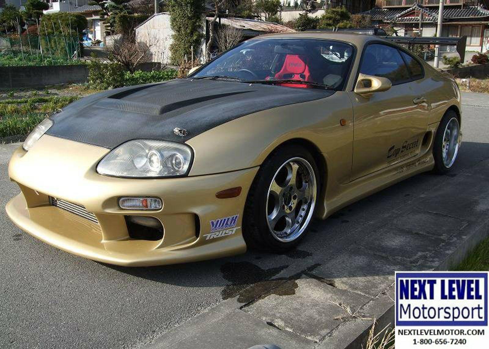 1996 Toyota Top Secret Supra Tt Right Hand Drive For