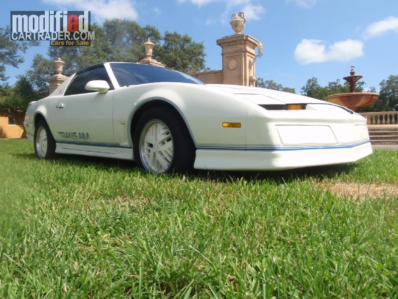 1984 Pontiac 15th Anniversary [Trans Am] 15th Anniversary For Sale ...