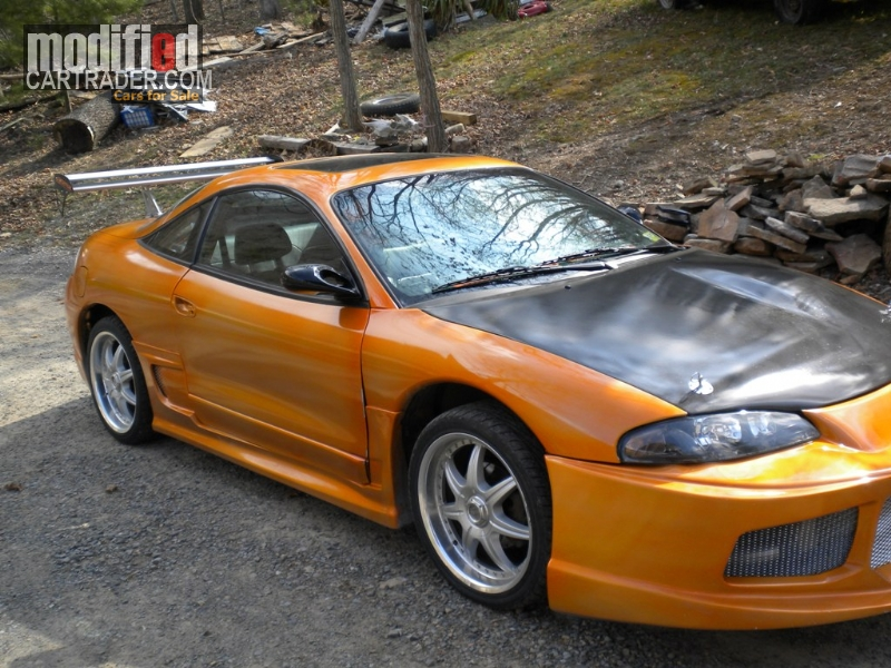 1999 Mitsubishi Eclipse Gsx For Sale Franklin West Virginia
