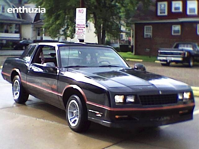 1986 chevrolet monte carlo ss for sale toronto ohio. Black Bedroom Furniture Sets. Home Design Ideas