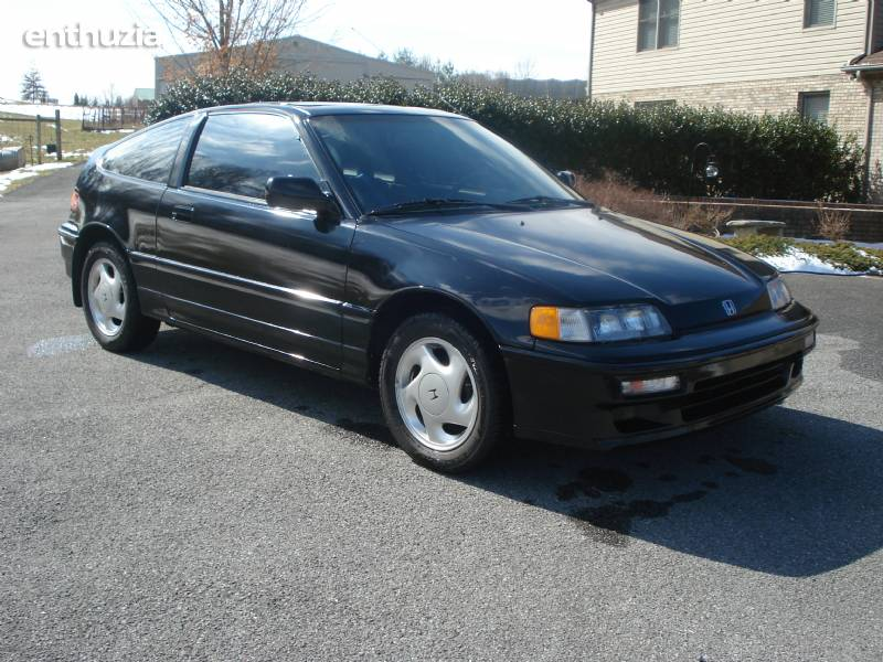 1991 honda crx si crx si for sale jonesborough tennessee. Black Bedroom Furniture Sets. Home Design Ideas