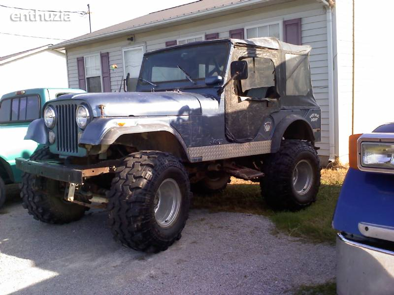 1974 Jeep Cj For Sale Walling Tennessee