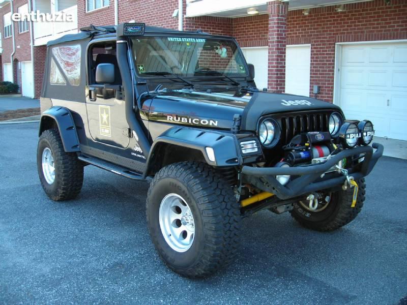 2006 Jeep Lj Tj Wrangler Rubicon Unlimited For Sale Alpharetta Georgia