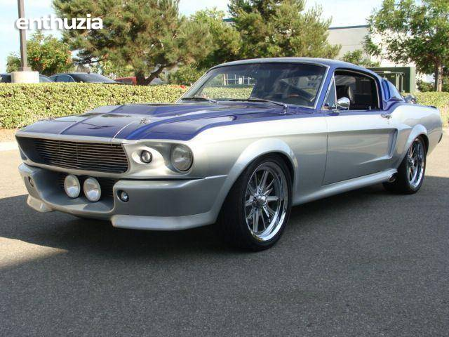 1968 ford mustang shelby gt500 custom for sale california. Black Bedroom Furniture Sets. Home Design Ideas