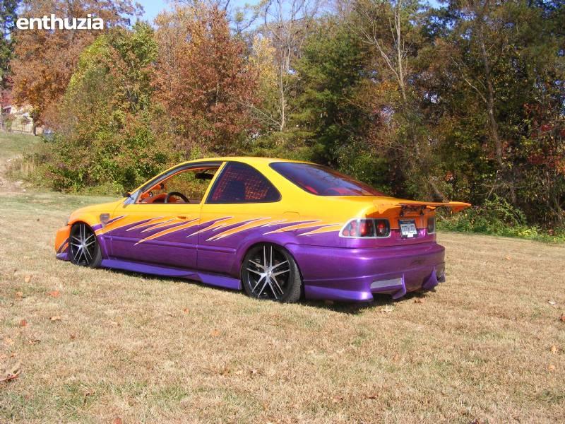 Honda Civic 2000 4 Door Custom 2000 honda civic