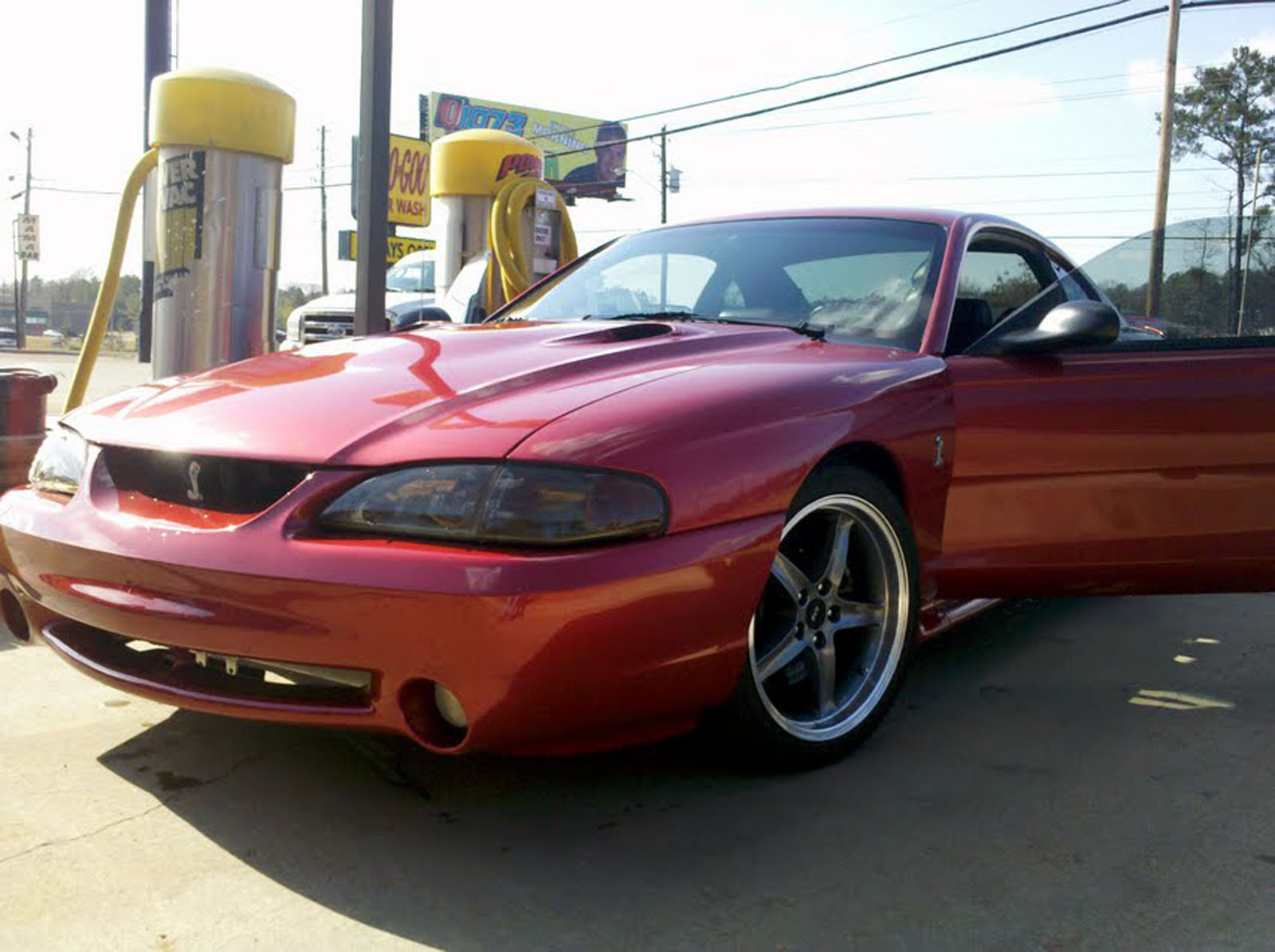 1998 ford svt mustang cobra for sale phenix city alabama. Black Bedroom Furniture Sets. Home Design Ideas