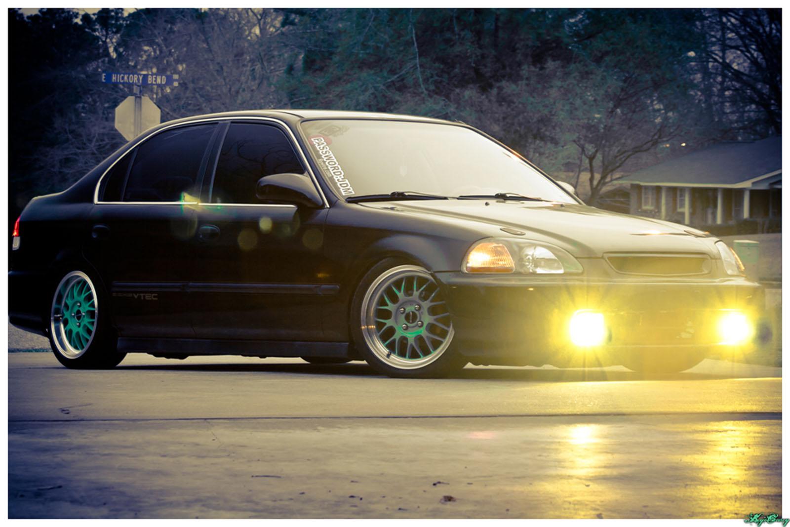 1998 Honda Ek  Civic  Lx For Sale