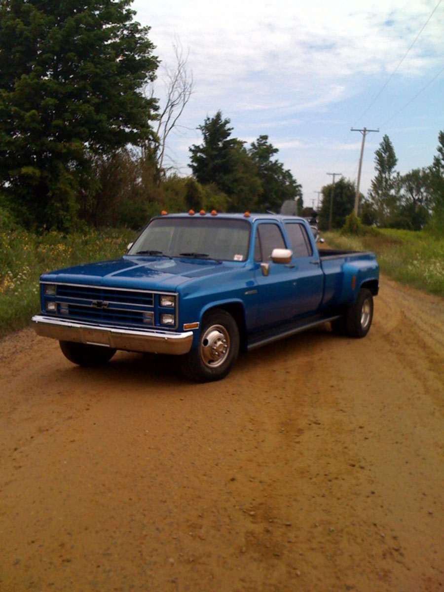 for sale fullscreen gallery 1986 chevrolet 3500 c30 crew cab dually