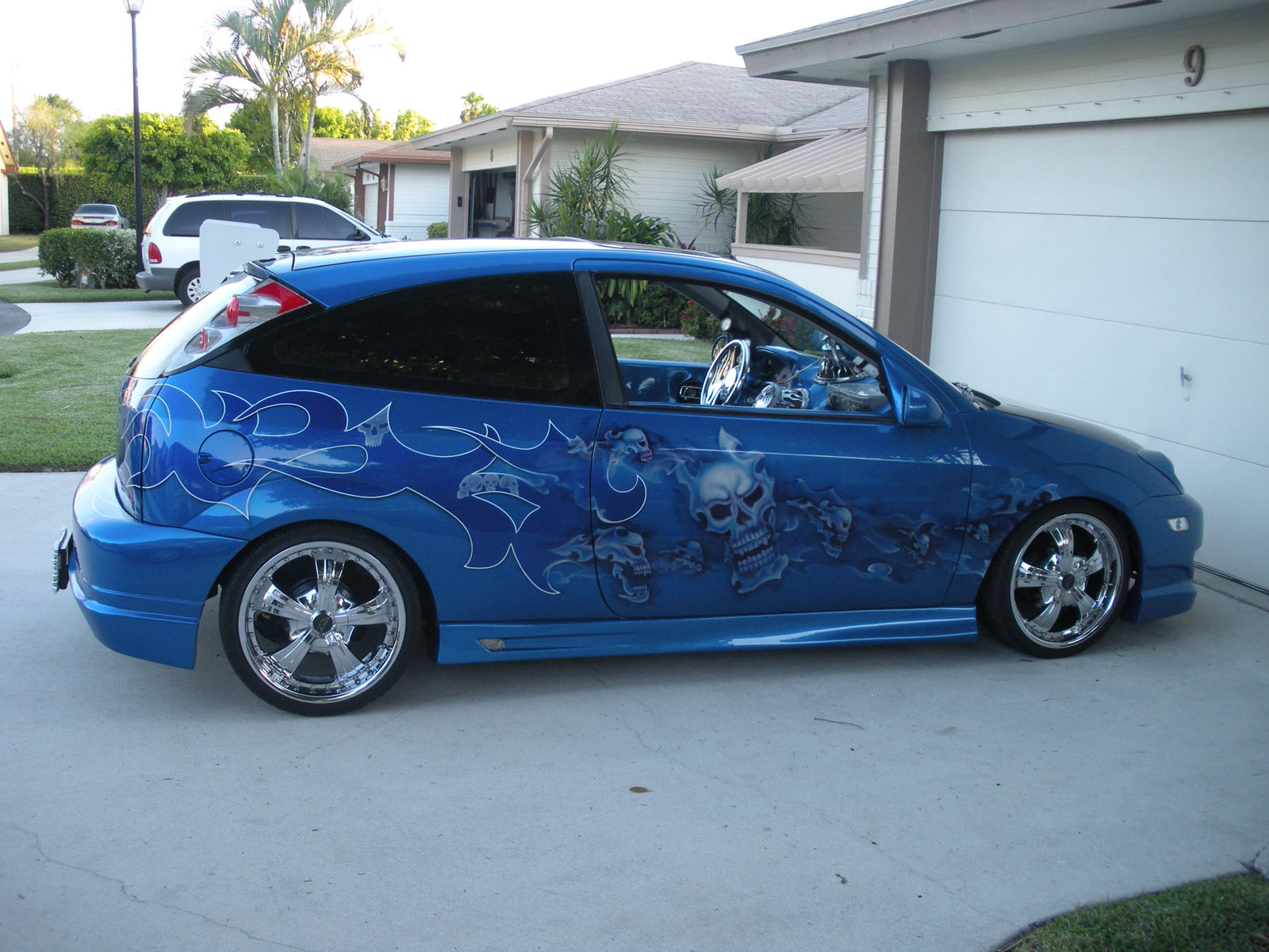 2001 ford focus zx3 hatchback for sale florida. Black Bedroom Furniture Sets. Home Design Ideas