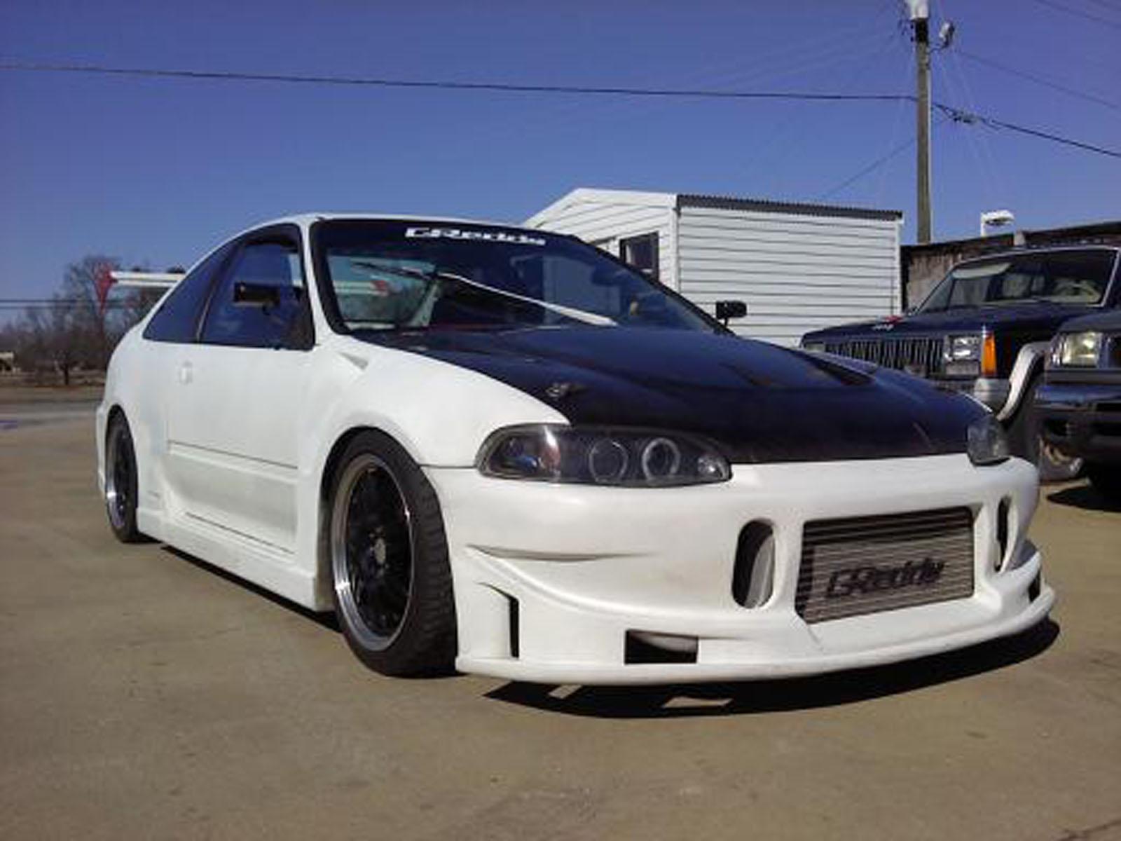 Custom Civic Ex