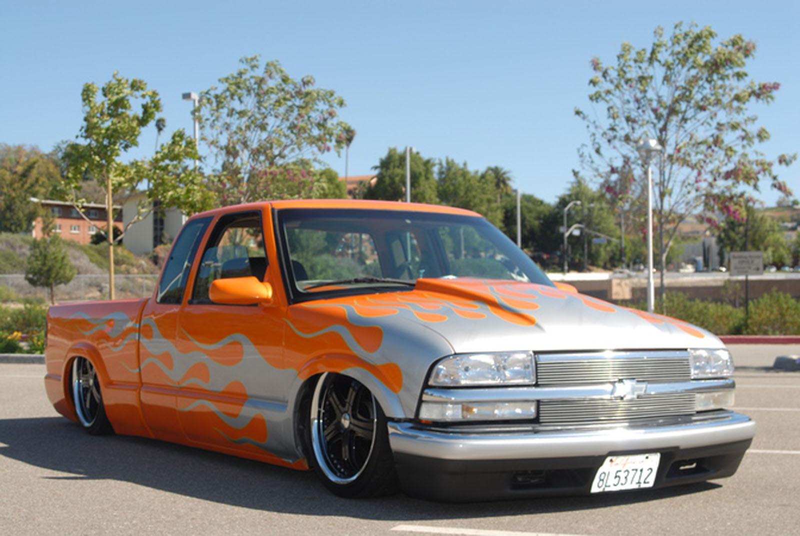 Truck 1998 custom chevy trucks : 1998 Chevrolet Custom bagged s10 [S-10] For Sale | California