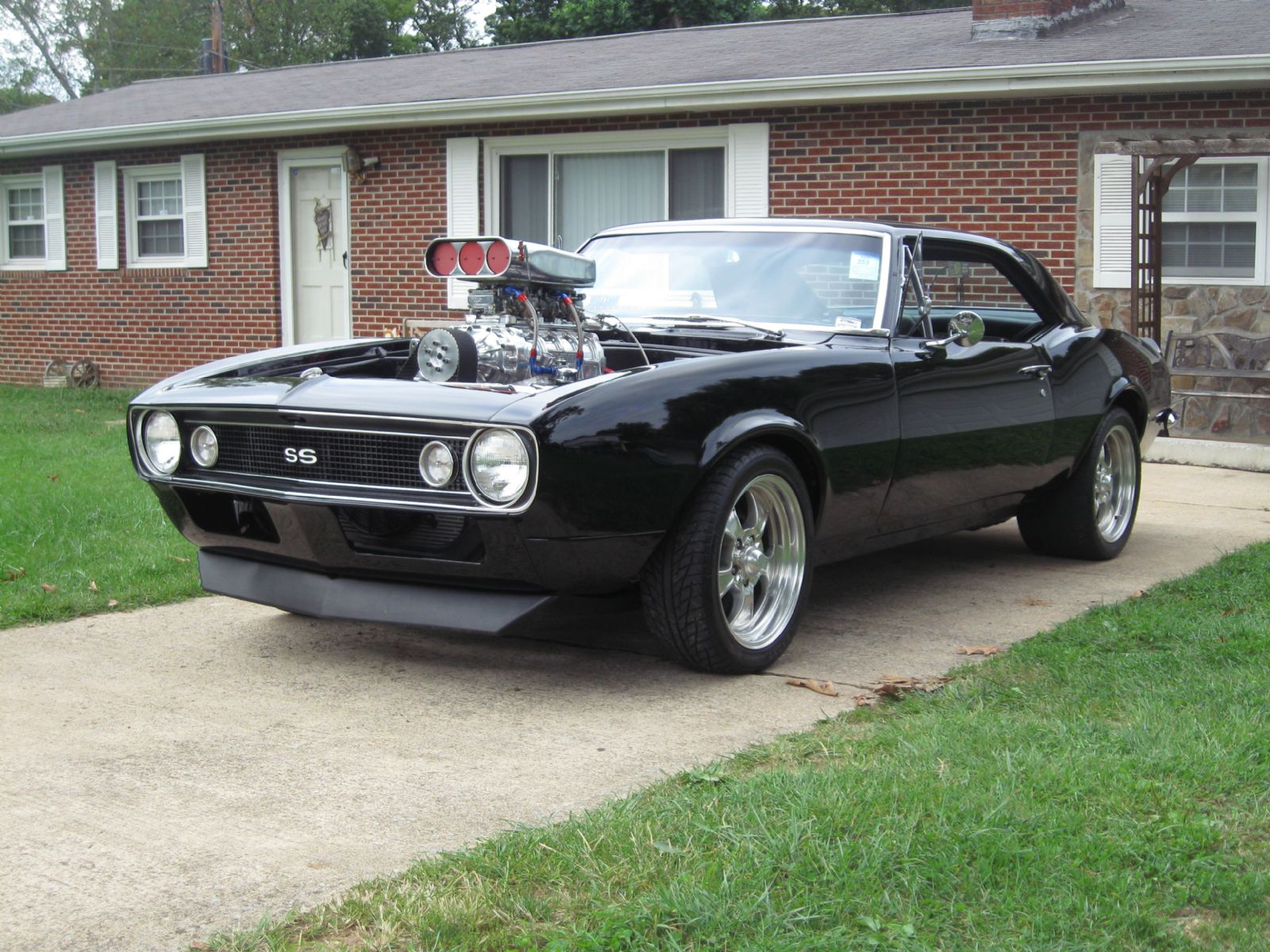 1967 chevrolet black beauty camaro blown 496 ss camaro for sale kingsport tennessee. Black Bedroom Furniture Sets. Home Design Ideas