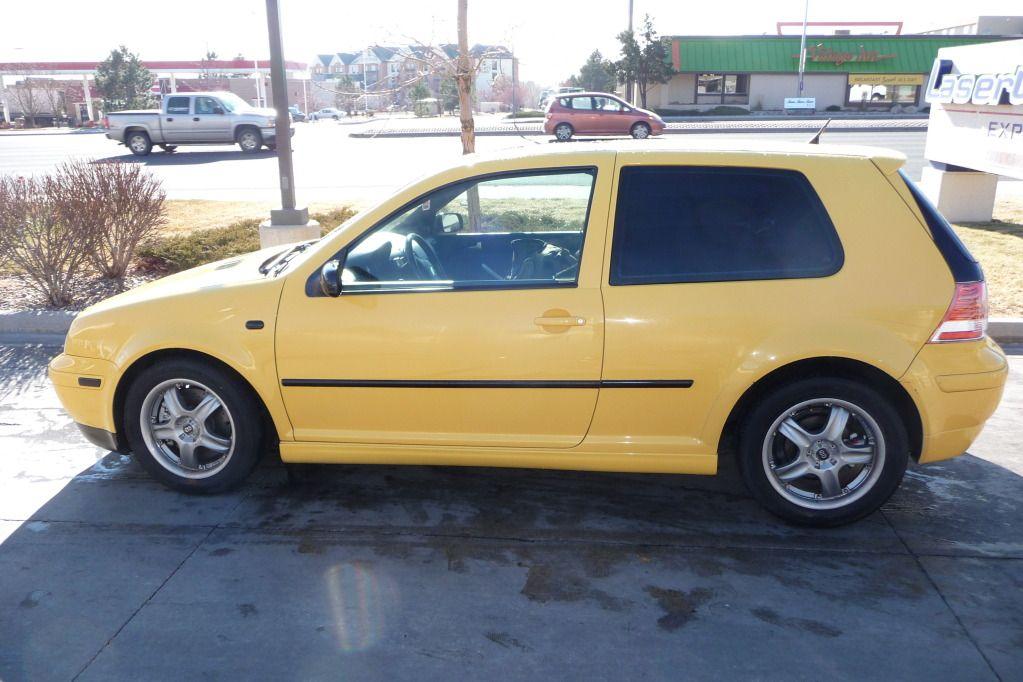 2003 Volkswagen 20th Anniversary Gti Imola Yellow Gti