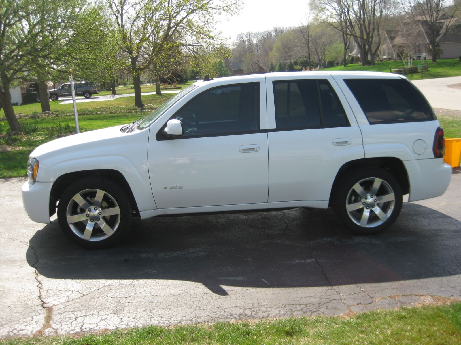 2008 chevrolet super sport trailblazer ss for sale milwaukee wisconsin. Black Bedroom Furniture Sets. Home Design Ideas