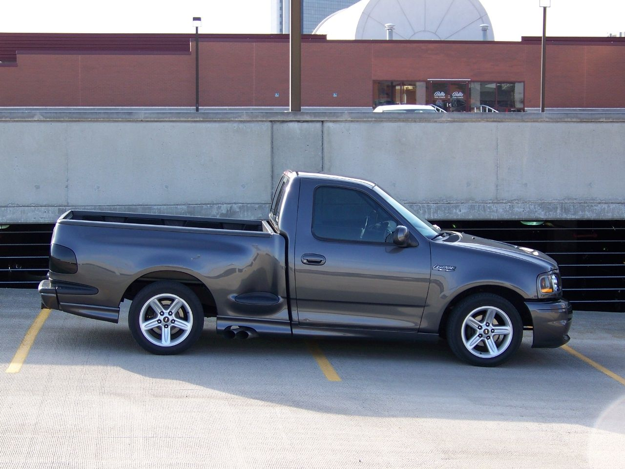 2000 ford dsg custom painted f150 svt lightning for sale. Black Bedroom Furniture Sets. Home Design Ideas