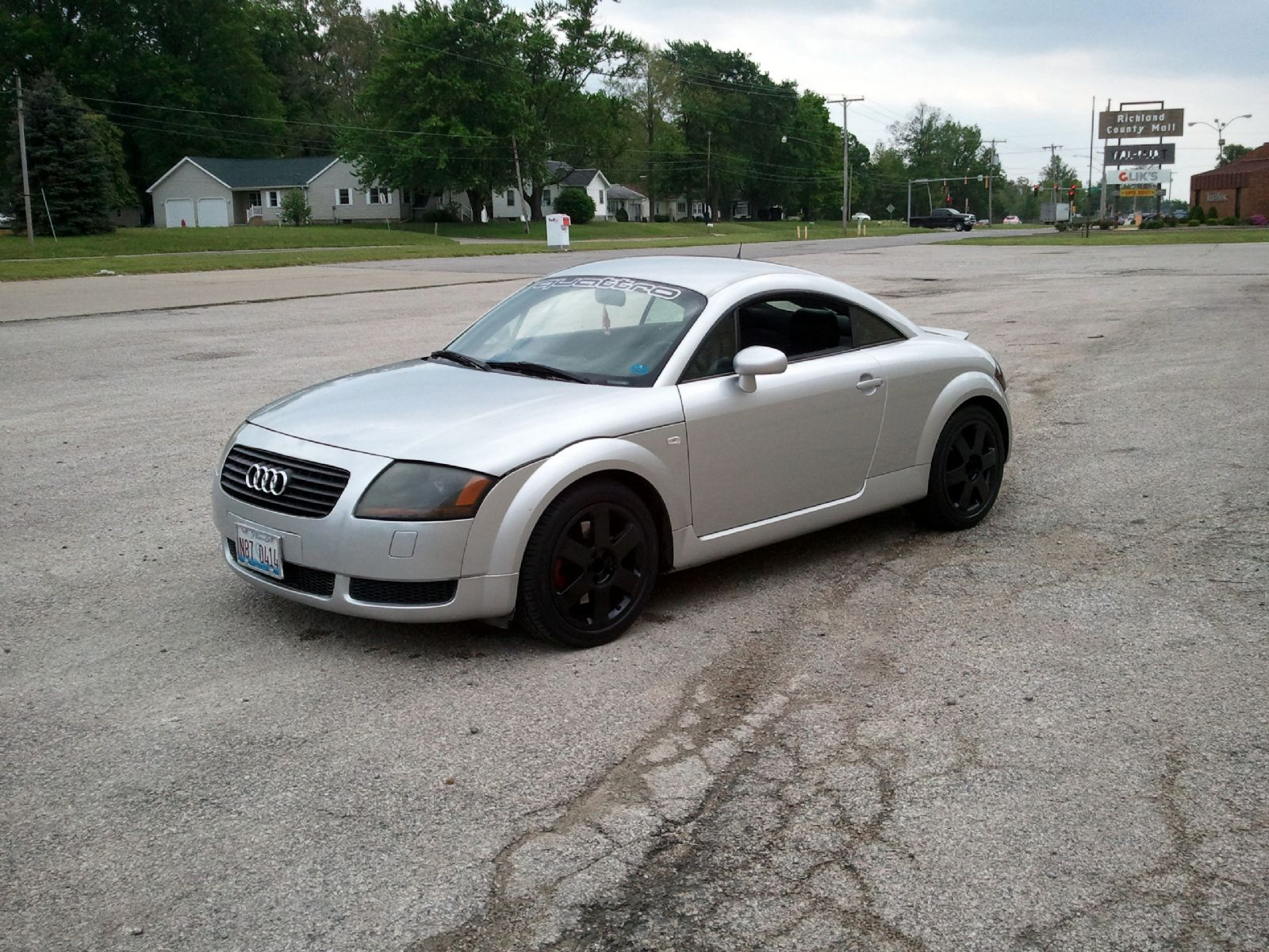 2000 audi tt quattro for sale olney illinois. Black Bedroom Furniture Sets. Home Design Ideas