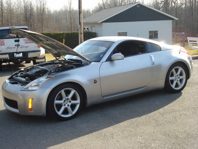2003 nissan 350z performance for sale brandon manitoba. Black Bedroom Furniture Sets. Home Design Ideas