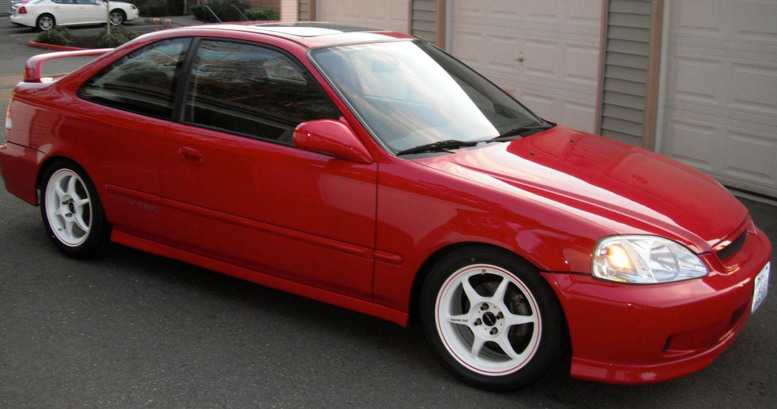 1999 Honda EM1 Civic Si For Sale  Renton Washington