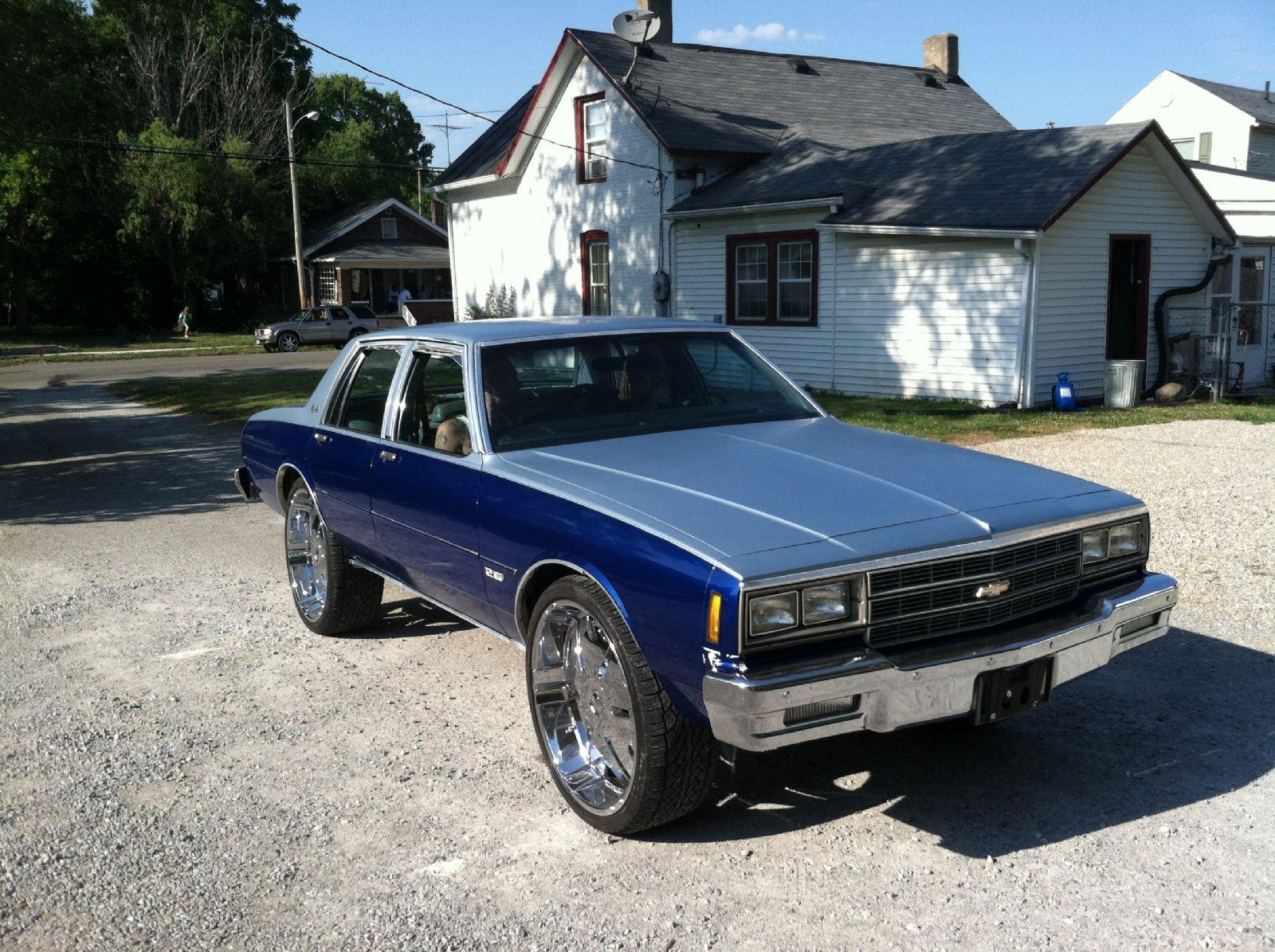 1981 chevrolet impala for sale piqua ohio. Black Bedroom Furniture Sets. Home Design Ideas