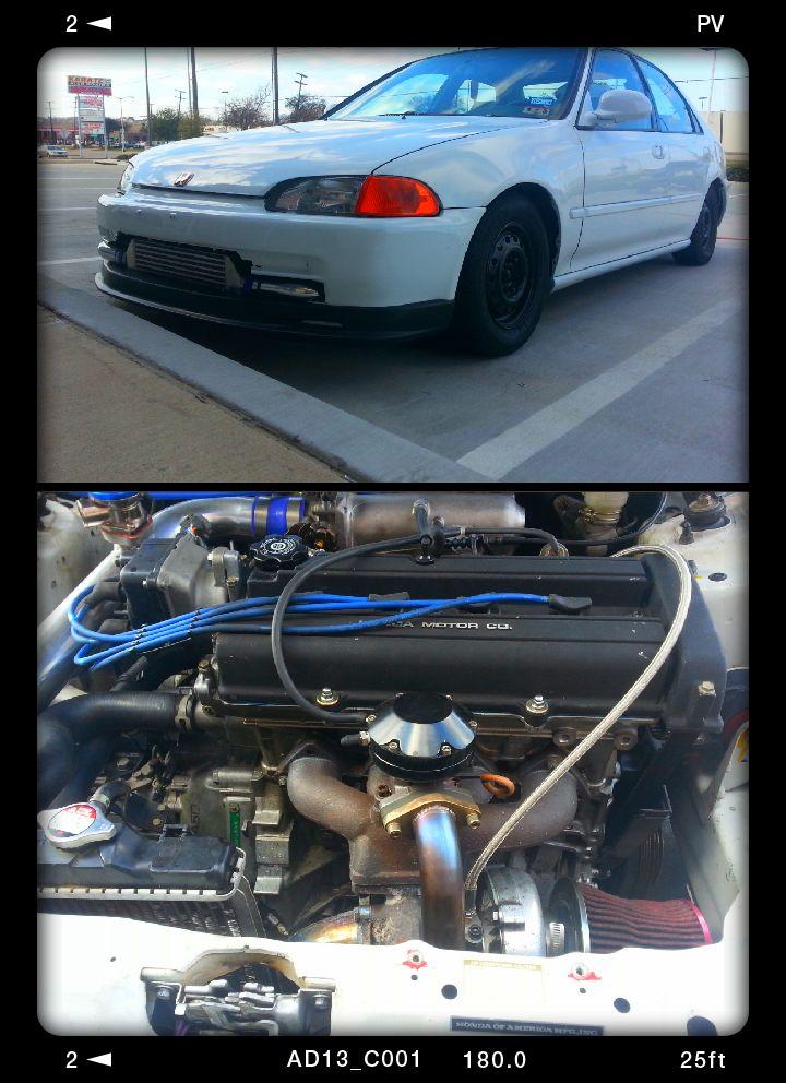 Honda Turbo B Ls Swap Civic Dallas For Sale Custom