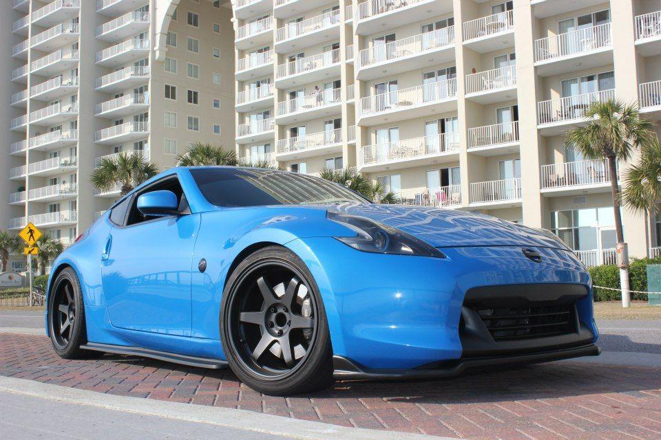 2009 Nissan Monterey Blue 370z For Sale Fort Walton