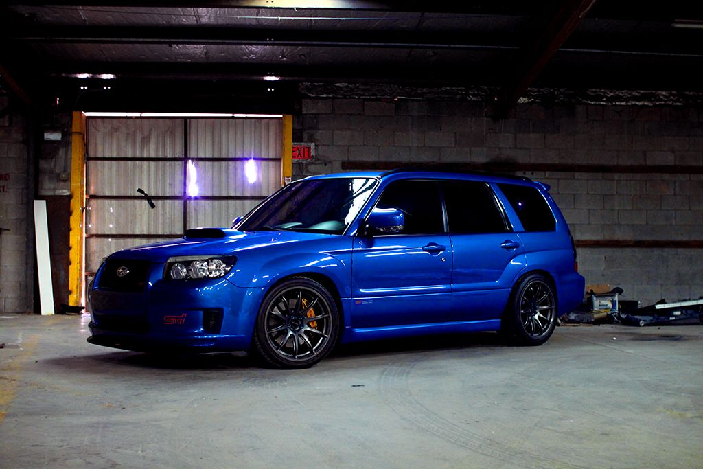 2007 Subaru Forester Sti Forester Xt Sports Sti For