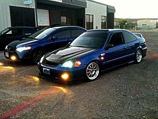 2000 Honda Civic Coupe JDM